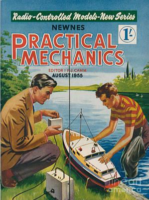 1950s Uk Practical Mechanics Magazine Art Print by The Advertising Archives