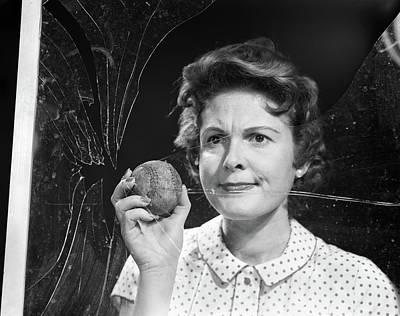 1950s Woman Housewife Mother Neighbor Art Print