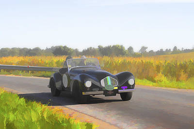 Photograph - 1951 Allard K2 Roadster by Jack R Perry