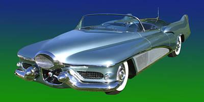 Photograph - 1951 Buick Lesabre Concept by Jack Pumphrey