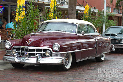 Wheels Photograph - 1951 Cadillac 2 Door by J Darrell Hutto