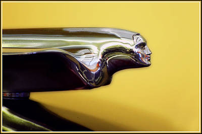 Photograph - 1951 Cadillac Goddess Hood Ornament by Ginger Wakem