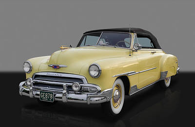 Custom Chevrolet Deluxe Photograph - 1951 Chevrolet Deluxe by Frank J Benz
