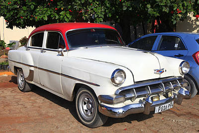 Photograph - 1951 Chevrolet In Cuba by Bryan Davies
