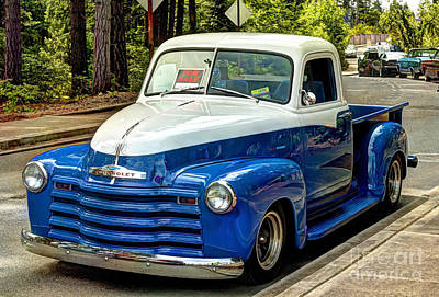 Photograph - 1951 Chevy Truck by Chris Anderson