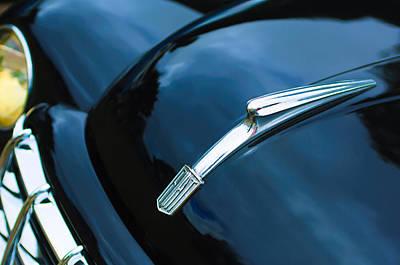 Photograph - 1951 Fiat Hood Ornament - Emblem by Jill Reger