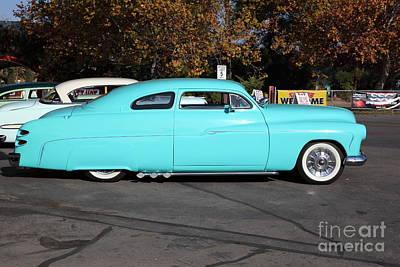 Custom Hotrod Photograph - 1951 Ford Mercury 5d26371 by Wingsdomain Art and Photography