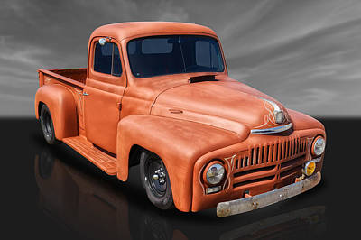 Photograph - 1951 International Pickup by Frank J Benz