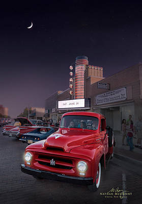 Photograph - 1951 International Pickup by Nathan Mccreery