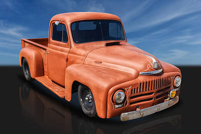 Photograph - 1951 International Pickup Truck by Frank J Benz