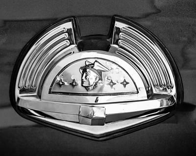 Photograph - 1951 Mercury Emblem 2 by Jill Reger