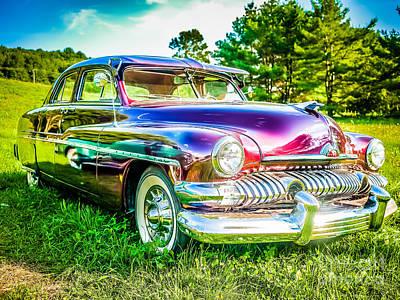 1951 Mercury Sedan Art Print by Edward Fielding
