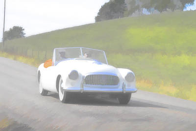 Photograph - 1951 Nash Healey by Jack R Perry