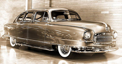 Photograph - 1951 Nash Statesman Super by Ron Roberts