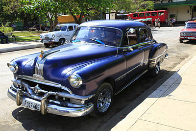 Photograph - 1951 Pontiac Chieftain by Bryan Davies