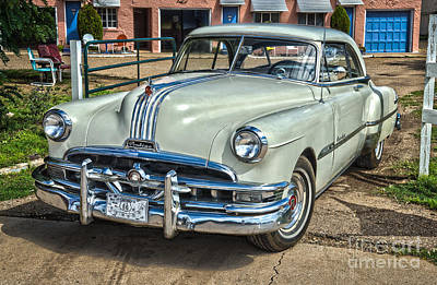 1951 Pontiac Chieftain Side View Art Print