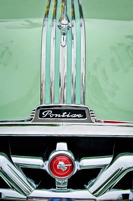 Photograph - 1951 Pontiac Streamliner Hood Ornament - Emblem by Jill Reger