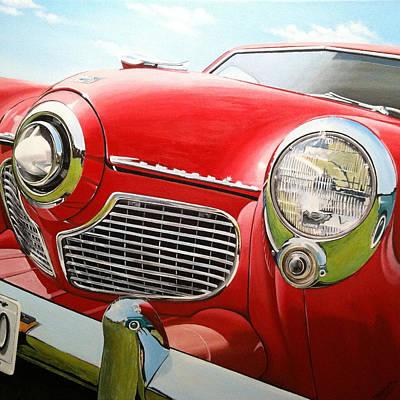 Painting - 1951 Studebaker Commander by Branden Hochstetler