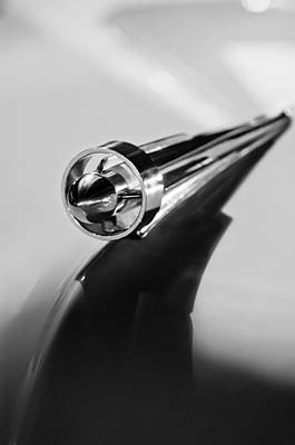 Photograph - 1951 Studebaker Pickup Truck Hood Ornament 2 by Jill Reger