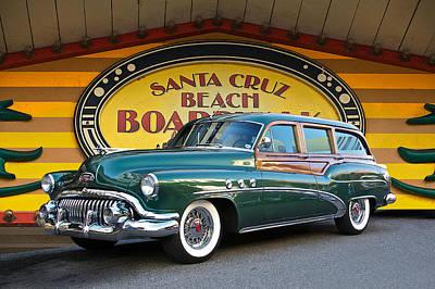Woody Wagon Photograph - 1952 Buick Estate 'woody' Wagon by Dave Koontz