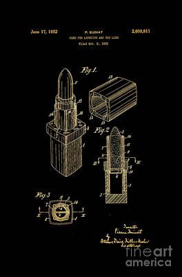 1952 Chanel Lipstick Case 10 Art Print