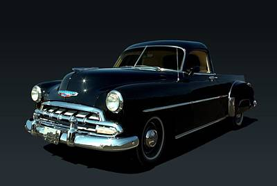 Photograph - 1952 Chevrolet Funeral Flower Pickup Truck by Tim McCullough
