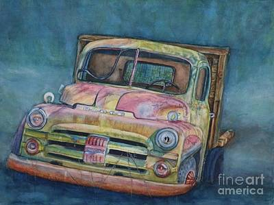 Painting - 1952 Dodge Half-ton Pickup by DJ Laughlin