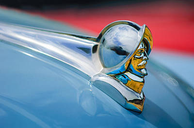 Photograph - 1952 Desoto Hood Ornament by Jill Reger