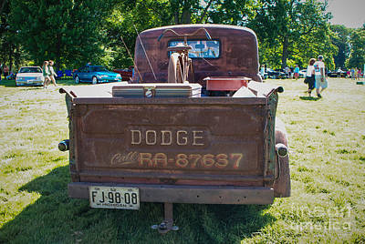 Photograph - 1952 Dodge Pickup Truck by Grace Grogan