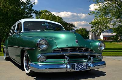 Photograph - 1952 Dodge Station Wagon by Tim McCullough