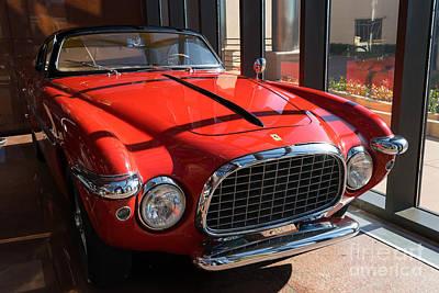 Photograph - 1952 Ferrari 212 Inter Vignale Dsc2495 by Wingsdomain Art and Photography