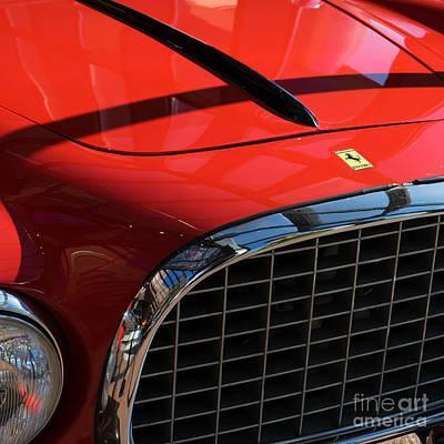 Photograph - 1952 Ferrari 212 Inter Vignale Dsc2496sq by Wingsdomain Art and Photography