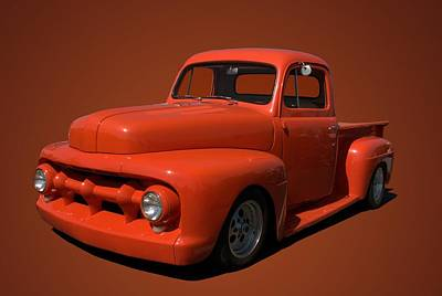 Photograph - 1952 Ford Pickup by Tim McCullough