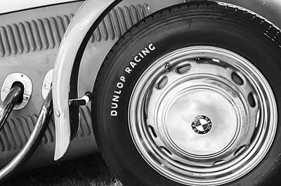 Photograph - 1952 Frazer-nash Le Mans Replica Mkii Competition Model Tire Emblem by Jill Reger