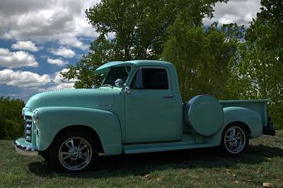 Photograph - 1952 Gmc Pickup Truck by Tim McCullough