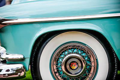 Photograph - 1952 Oldsmobile 98 Holiday Hardtop Wheel Emblem -1482c by Jill Reger