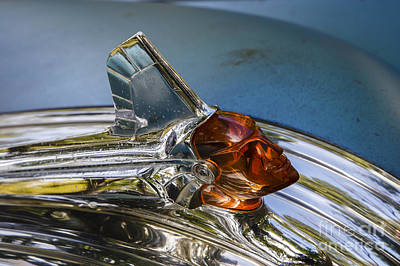 Photograph - 1952 Pontiac Hood Ornament by Dennis Hedberg