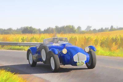 1953 Allard J2x Roadster Art Print