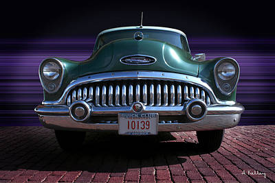 Photograph - 1953 Buick by Andrea Kelley