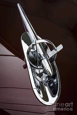 Photograph - 1953 Buick Hood Ornament by Dennis Hedberg
