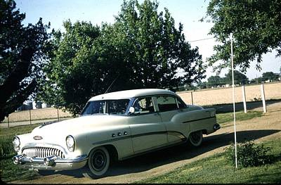 Photograph - 1953 Buick by John Mathews