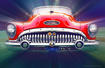 Photograph - 1953 Buick Roadmaster by Ed Dooley