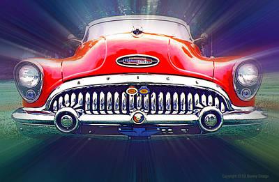 1953 Buick Roadmaster Art Print