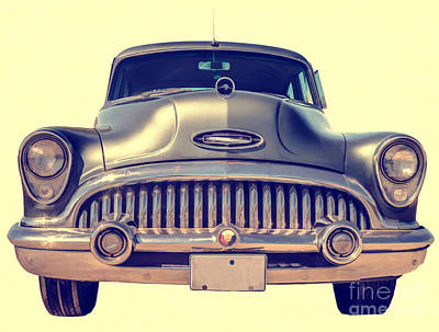 Photograph - 1953 Buick Roadmaster by Edward Fielding
