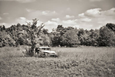Photograph - 1953 Buick Roadmaster - Lone Field Of Dreams 2a by Greg Jackson
