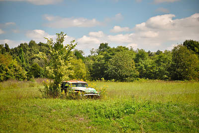 Photograph - 1953 Buick Roadmaster - Lone Field Of Dreams  by Greg Jackson