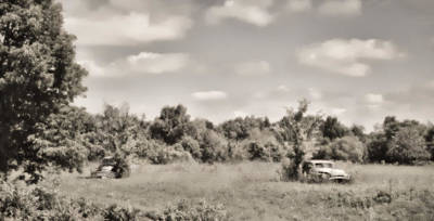 Photograph - 1953 Buick Roadmasters - Field Of Dreams 2b by Greg Jackson