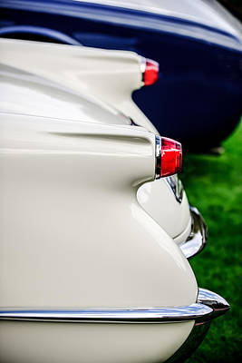 Photograph - 1953 Chevrolet Corvette Taillight -1406c by Jill Reger
