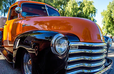 Photograph - 1953 Chevrolet Pickup by Steve Benefiel