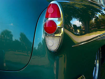 Photograph - 1953 Chevy 210 Reflection by Kathy K McClellan